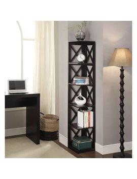 Convenience Concepts Oxford 5 Tier Corner Bookcase by Convenience Concepts