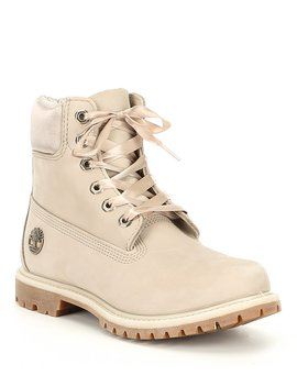 """6"""" Premium Waterproof Leather Boots by Timberland"""