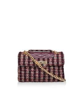 Tweed Mayfair X Bag by Kurt Geiger London