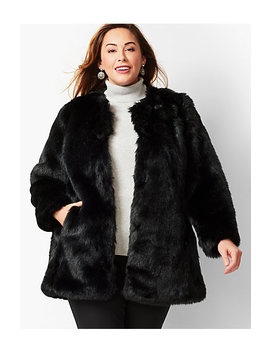 Faux Fur Coat by Talbots