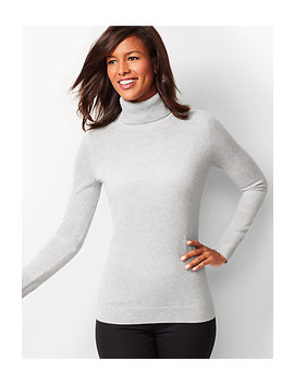 Cashmere Turtleneck Sweater   Shimmer by Talbots