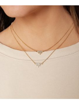 Dainty Tiered Necklace by Bke