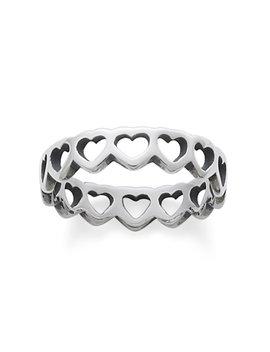 Tiny Hearts Band Ring by James Avery