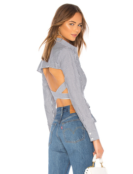 Tori Wrap Top by About Us