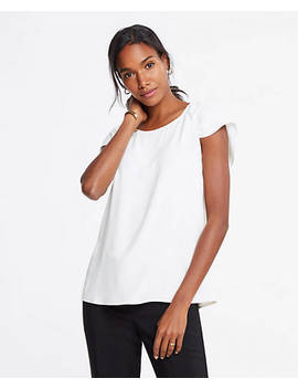 "<A Href=""Https://Www.Anntaylor.Com/Ruched Cap Sleeve Top/479604?Sku Id=26394138&Default Color=9192&Default Size=600&Price Sort=Desc"" Tabindex=""0"" Data Di Id=""Di Id F86cc196 2c69781f"">Ruched Cap Sleeve Top</A> by Ann Taylor"