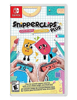 Switch Snipperclips Plus Cut It Out by Nintendo