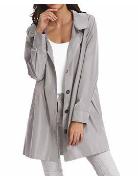 Womens Lightweight Hooded Waterproof Active Outdoor Rain Jacket by Kate Kasin