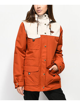 Picture Organic Kate Brick 10 K Snowboard Jacket by Picture Organic