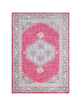 Karolina Pink 8 Ft. X 10 Ft. Indoor Area Rug by Artistic Weavers