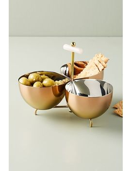 Glam Chutney Bowl by Anthropologie