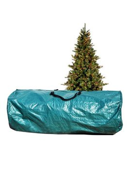 Large Artificial Christmas Tree Carry Storage Bag Holiday Clean Up 9' Green by Strong Camel