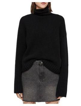 Hanbury Cashmere Turtleneck Sweater by Allsaints