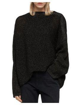 Marcel Metallic Sweater by Allsaints