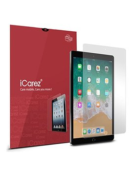 I Carez [Anti Glare Matte Screen Protector For Apple 10.5 Inch I Pad Pro (2017) Premium Easy Install With Lifetime Replacement Warranty Pack Of 2 by I Carez