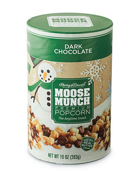 Dark Chocolate Moose Munch Gourmet Popcorn Holiday Canister by Harry & David