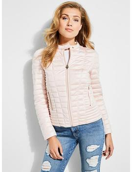 Mason Hooded Puffer Jacket by Guess