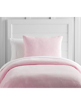 Luxe Chamois Duvet Cover by Pottery Barn Kids