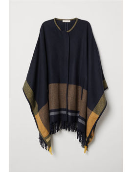 Poncho With Zip by H&M
