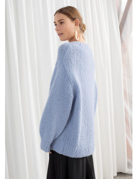 Oversized Merino Wool Blend Sweater by & Other Stories