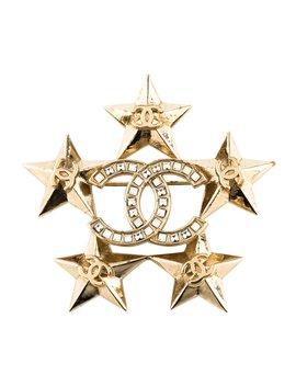 Crystal Star Brooch by Chanel