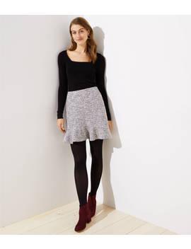 Petite Shimmer Flippy Skirt by Loft