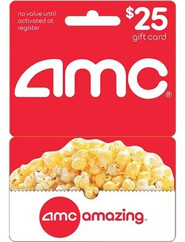 $25 Gift Card by Amc Theatres