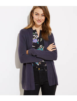 Sandwashed Open Cardigan by Loft
