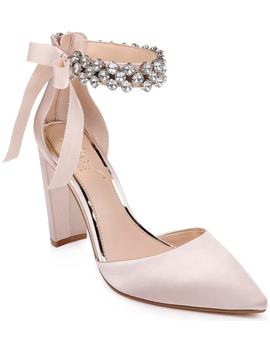 Deirdra Ankle Strap Pump by Jewel Badgley Mischka