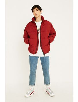 Urban Outfitters – Steppjacke In Weinrot by Urban Outfitters Shoppen