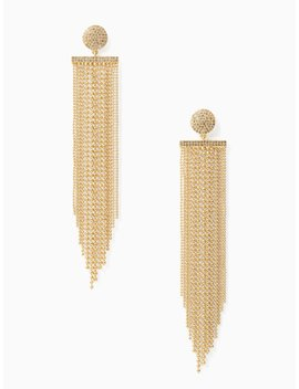 Glimmer Shimmer Statement Earrings by Kate Spade