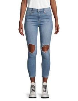Classic Distressed Jeans by Free People