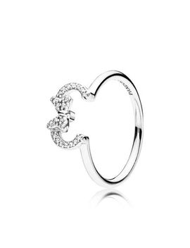 Disney, Minnie Silhouette Ring by Pandora