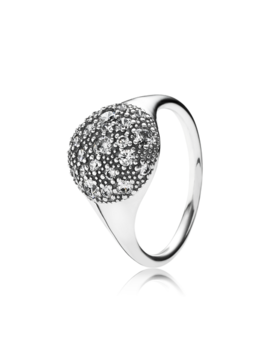 Cosmic Stars Ring, Clear Cz by Pandora