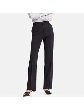 Pantalon Stretch Taille Haute Femme by Uniqlo