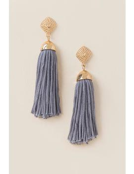 Kyla Tassel Earrings by Francesca's