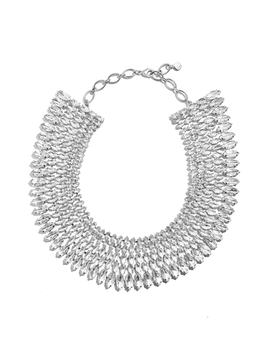 Anatalia Crystal Collar Necklace by Baublebar