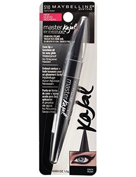 Maybelline Eyestudio Master Kajal Eyeliner, Onyx Rush, 0.053 Oz. by Maybelline New York
