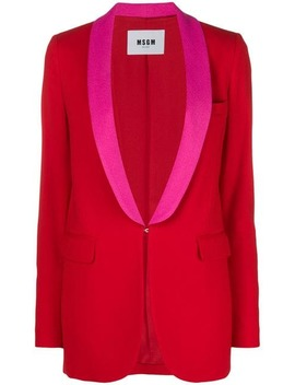 Classic Single Breasted Blazer by Msgm