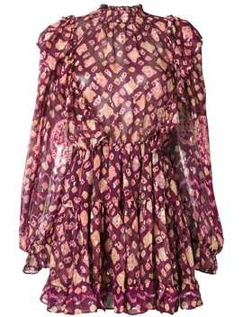 Vienne Printed Dress by Ulla Johnson