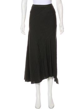 Asymmetrical Midi Skirt by Rick Owens