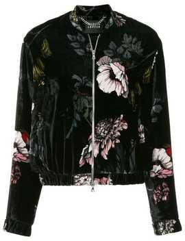 Floral Print Jacket by Markus Lupfer