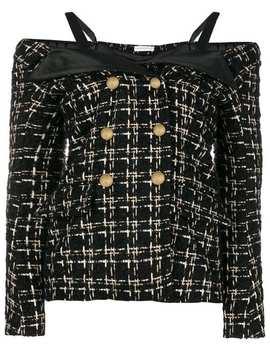 Cold Shoulder Tweed Jacket by Faith Connexion