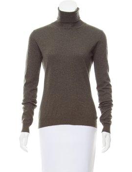 Turtleneck Long Sleeve Sweater by Jil Sander