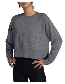 Versa Embossed Cropped Training Sweatshirt by Nike