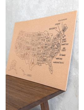 Usa Corkboard Map by Francesca's