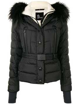 Belted Padded Jacket by Moncler Grenoble