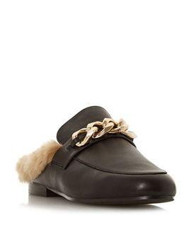 Steve Madden   Black Leather 'krane Steve Madden' Loafers by Steve Madden