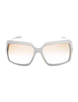 Gradient Square Sunglasses by Gucci