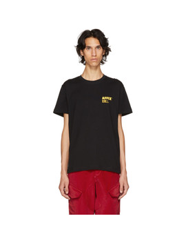 T Shirt à Logo Noir by Affix