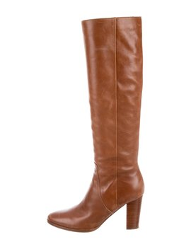 Leather Knee High Boots by Belle By Sigerson Morrison